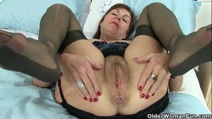 British granny Amanda and her sex toy collection
