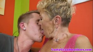 European granny loves getting fucked